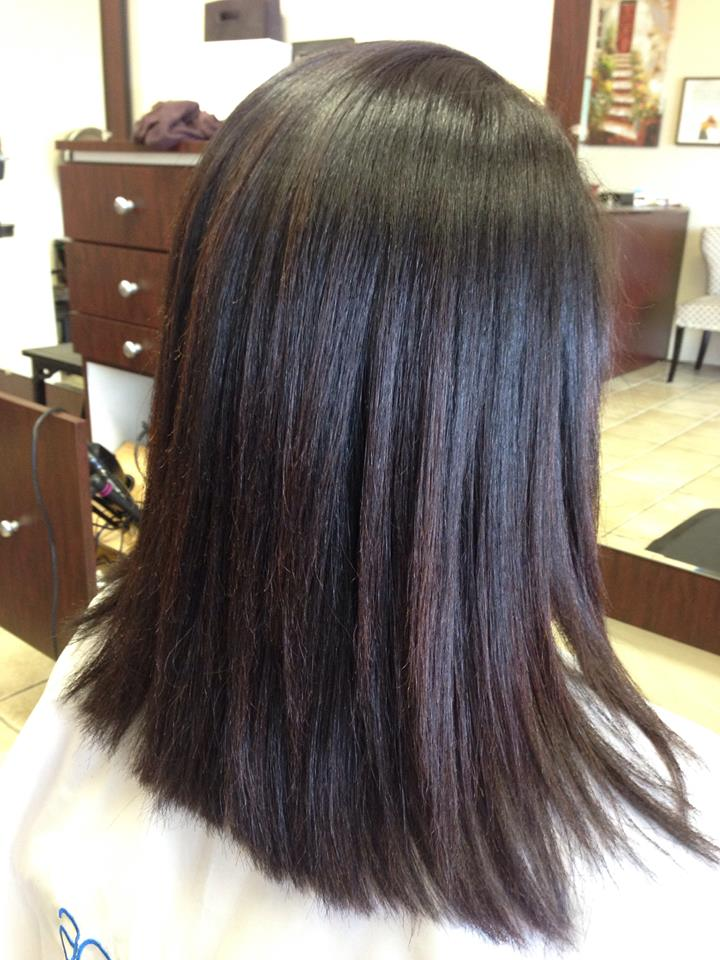 Thio Straightening Process Japanese Straightening